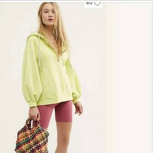 NEW $128 Free People High Road Hooded Pullover